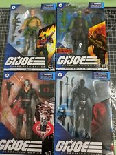 G I Joe Classified Lot Beachhead Destro Snake Eyes Duke