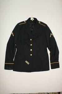 U.S ARMY WOMANS DRESS BLUE JACKET SIZE 10WP  DATED 2010