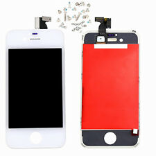 White black LCD touch screen display for IPhone 4 G bezel replacement parts