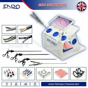 ENDO® Laparoscopic Training Box Laparoscopy Trainer Practice Surgical Simulator