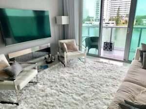 Luxurious White Alpaca fur rug natura, handmade in Peru, custom rugs, Alpaca rug