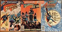 Superman Worlds Finest #299 DC Action Comics #551 Presents Book Lot of 3 Phantom