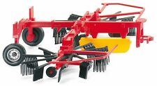 HO 1/87 Wiking # 39401 Twin Rotating Hay Rake - Farm Equipment