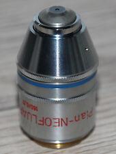 Zeiss MICROSCOPIO Microscope obiettivamente piano-Neofluar 63/0, 90 Pol (Zeiss n. 460818)