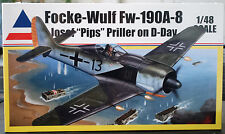 Focke Wulf FW 190 A8 Josef Pips Priller D-Day, 1:48, Accurate Miniatures 402
