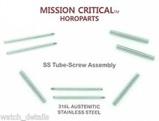 4 Tubes & 4 Screws for Panerai® 47mm -  26mm MISSION CRITICAL™ HOROPARTS