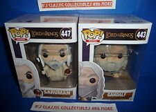 Gandalf & Saruman POP Figures Set The Lord Of The Rings Funko New!