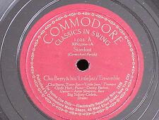"""Chu Berry-Roy Eldridge/Stardust-Body and Soul/12"""" 78/Commodore 1502/E to E-"""