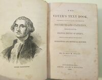 THE VOTER'S TEXT BOOK 1868 by James M. Hiatt