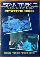 Original Vintage 1984 Star Trek III:Search for Spock Postcard Book- UNUSED!