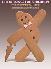Songs For Children Gingerbread Man Learn to Play PIANO Guitar PVG Music Book