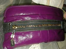 CHLOE DAY TRIPPER Designer Leather Clutch pouchette handbag ~Authentic Hologram