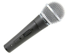 NEW Shure SM58S Microphone On/Off Switch SM 58 Free 48 State Shipping!