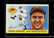 1955 TOPPS #29 HERMAN WEHMEIER   EX