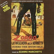 ZORRO LA MASCHERA DELLA VENDETTA (MUSIQUE DE FILM) - GIANNI MARCHETTI (CD)
