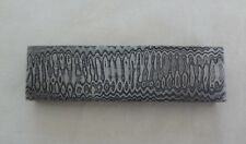 13.5cm Handmade Damascus steel Billet knife Guard Bolster making supply 16mm.
