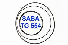 SET CINGHIE SABA TG 554 REGISTRATORE A BOBINE BOBINA EXTRA FORTI FRESCHE TG554