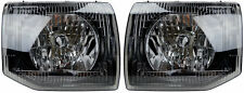 Pair of Headlights for Mitsubishi Pajero NL 09/97-04/00 New Front 98 99 00 Lamps