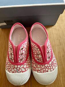 Jacadi Paris Toddler Girls Shoes Size 24- US Size 8