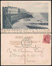 GB to SIAM THAILAND PPC 1903 EPPING POSTMARK WALTON on NAZE