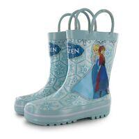 Disney Kids UK 10, 13, 2  Children Wellies Wellington Rubber Rain Boots Snow