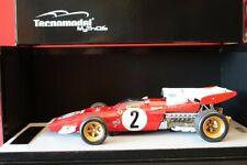 FERRARI 312 B2 F1 WINNER GP ZANDVOORT 1971 n° 2  1:18 TECNOMODEL TM18121C  *NEW*