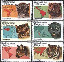 Postfrisch 1996 Wildkatzen Benin Block19 kompl.ausg.