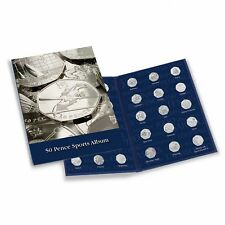 2012 London Olympic Games 50p Collectors Coin Album for 29 Coins
