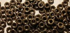 8 32 Solid Brass Hex Nuts Small Pattern Select Qty