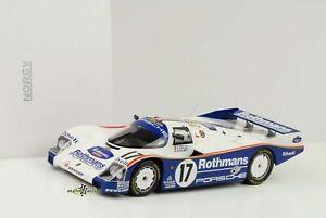 Porsche 962 C#17 Gangant 24h le Mans 1987 Cloche Pièce Holbert 1:18 Norev
