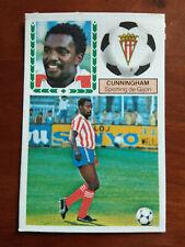 Cromo Cunningham coloca liga 83 84 ediciones este temporada 1983 1984 fútbol