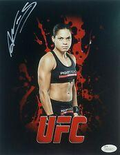 Amanda Nunes Signed Autographed 8x10 MMA UFC Champion JSA