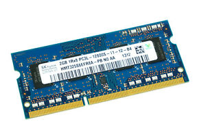 HMT325S6EFR8A-PB GENUINE HYNIX LAPTOP MEMORY 2GB PC3L-12800S DDR3 SODIMM (CA610)