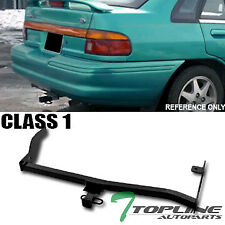 """Topline For 1991-1997 Ford Escort Class 1 Trailer Hitch Tow Receiver 1.25"""" - Blk"""