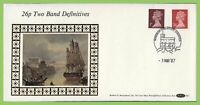 G.B. 1987 26p Two Band Definitive on Benham First Day Cover, Windsor