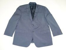 Pronto Uomo Men's Suit Jacket Size 48 Regular Blue 48R Blazer Sports Coat Wool
