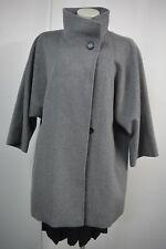 S.MINTOL Damen Jacke Mantel  Gr.40 Grau mit Wolle Kaschmir TOP*C230