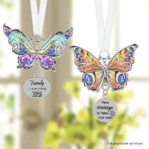 "Ganz E1 Spring Christmas Decor Find Beauty Everywhere Butterfly 2.5"" Ornament"