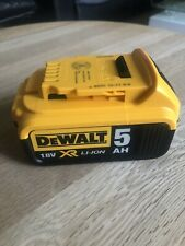 Dewalt 18v battery 5ah