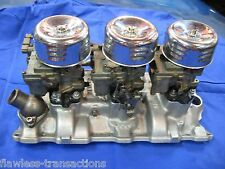 Complete Small Block Chevy Tri-Power 3-Deuce 3x2 6-Pack Intake System Chevrolet