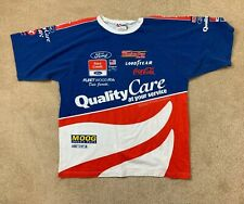 Nascar All Over Print Ford Quality Care Vintage Size XL USA Made Dale Jarrett