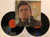 Johnny Cash - The World Of Johnny Cash - 1975 US Album (NM) Ultrasonic Clean