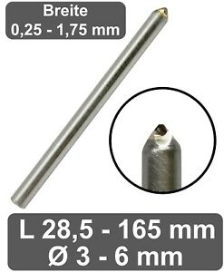 Gravierdiamant Burnisher Schliff – Fräsgravur Metall & Glas Gravur Diamant CNC