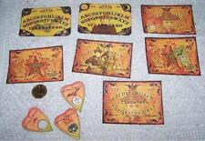 Halloween~Ouija~Boards~Planchettes~Witch~Pentagram~Wicca~Linen Cardstock~Cards