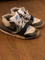 Nike Air Trainer 1 Mid Sneaker, Weiss/ Grau/ Blau / schwarz Gr. 46