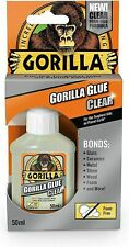More details for 50ml gorilla super glue gel strong glue foam free incredible clear super bond uk