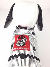 Dog Pet Clothes Harness SZ Sm 4.5 to 6 LBS Handmade NEW College Georgia Bulldogs
