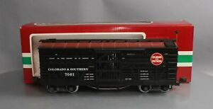 LGB 45680 Colorado & Southern Stock Car - Metal Wheels EX/Box