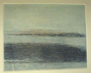 WILLIAM GEORGE ALLAN-Two Color Aquatint-TOMALES-Landfall Press-1975