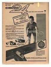 1966 DOCUMENT (ref Lip 371) PUB  :  AUTO CIRCUIT 24 FORD MATRA 1page